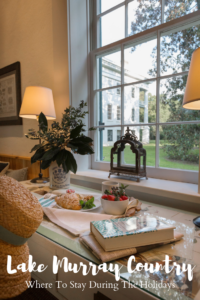 Whether you need a recommendation for guests or you're traveling to Lake Murray Country, here is where to stay during the holiday season.