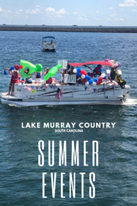 What to do in Lake Murray Country, South Carolina, during the summertime! Everything is better on the water. #LakeMurray #SouthCarolina #Fishing #BassFishing